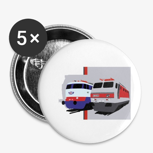 FS E444 / E444R - Confezione da 5 spille piccole (25 mm)