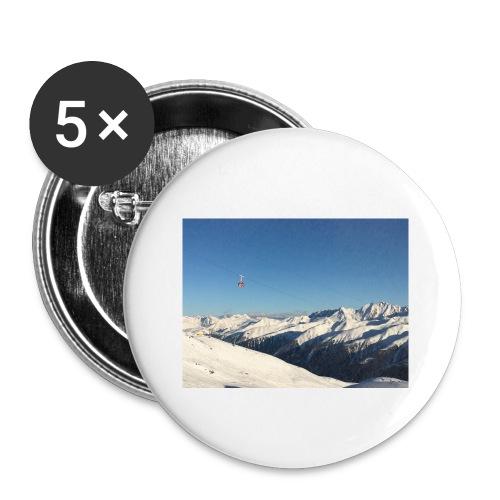 bergen - Buttons klein 25 mm (5-pack)