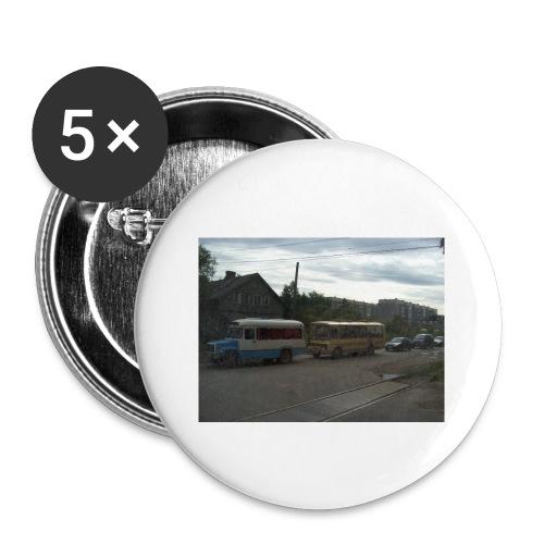 Sortavala - Rintamerkit pienet 25 mm (5kpl pakkauksessa)