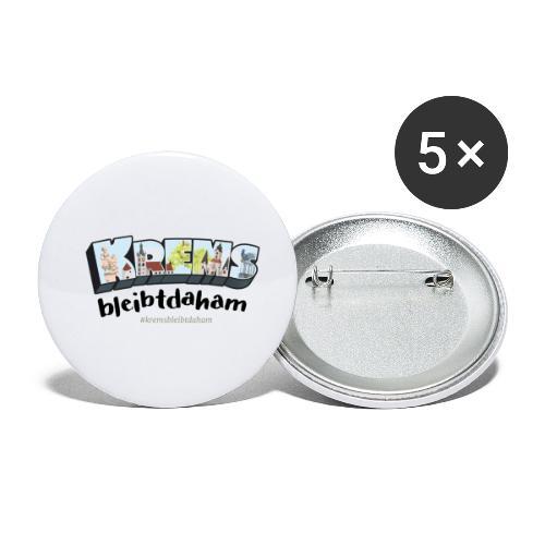 #kremsbleibtdaham - Buttons klein 25 mm (5er Pack)
