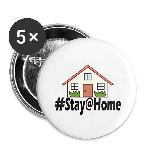 StayHome - Buttons klein 25 mm (5-pack)