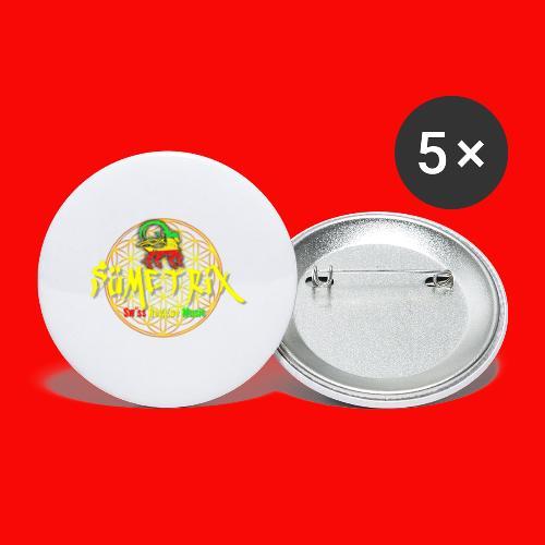 SÜEMTRIX-FANSHOP - Buttons klein 25 mm (5er Pack)