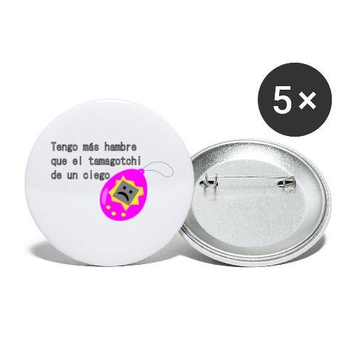 tamagotchi - Paquete de 5 chapas pequeñas (25 mm)