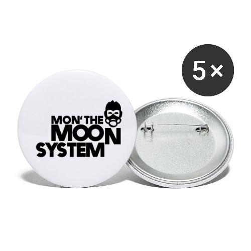 Mon' The Moon System - Buttons small 1''/25 mm (5-pack)