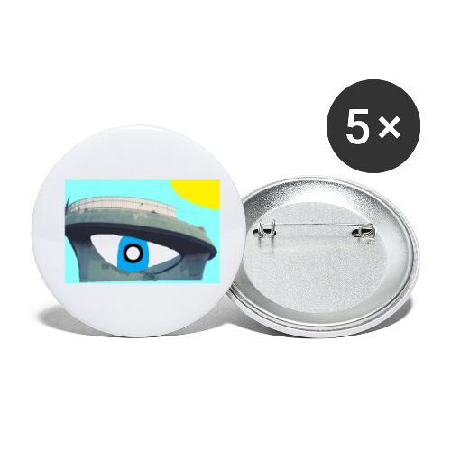 fantasimm 2 - Confezione da 5 spille piccole (25 mm)