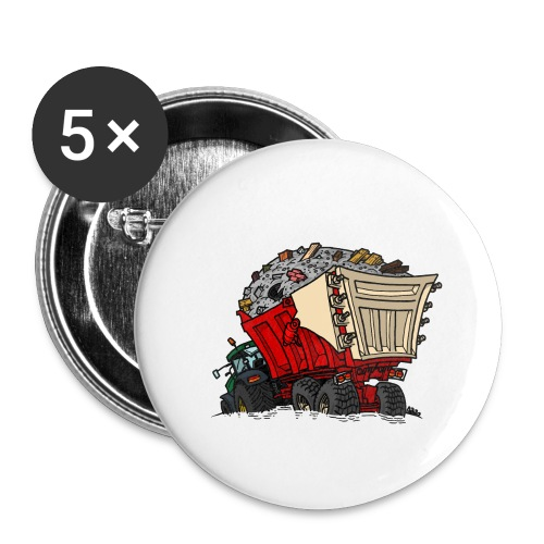 0956 kar PUIN - Buttons klein 25 mm (5-pack)