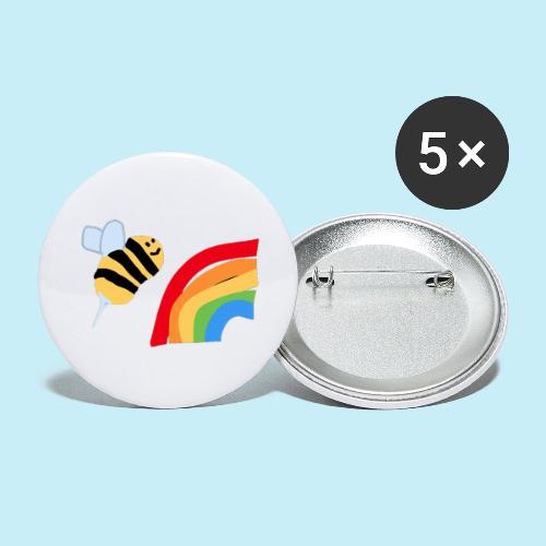 BEe Gay - Lot de 5 petits badges (25 mm)