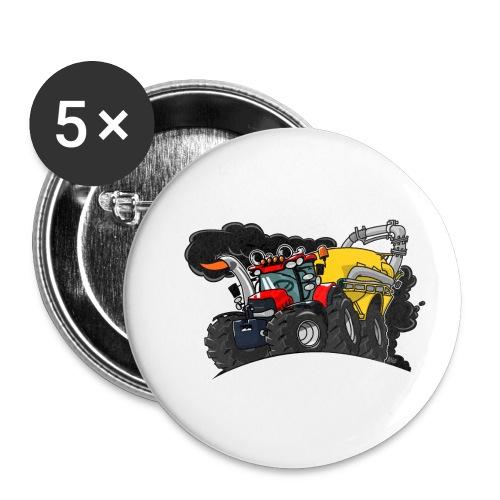 0961 Case kar - Buttons klein 25 mm (5-pack)