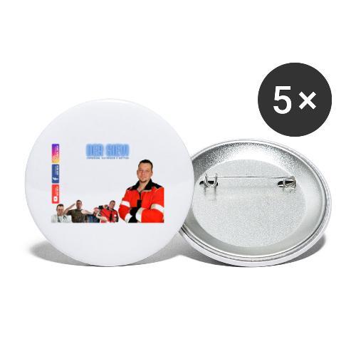 Der Sievi - Comedian, Satiriker & Retter - Buttons klein 25 mm (5er Pack)
