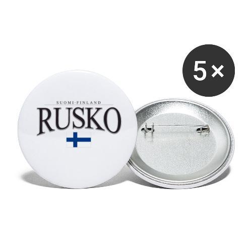Suomipaita - Rusko Suomi Finland - Rintamerkit pienet 25 mm (5kpl pakkauksessa)
