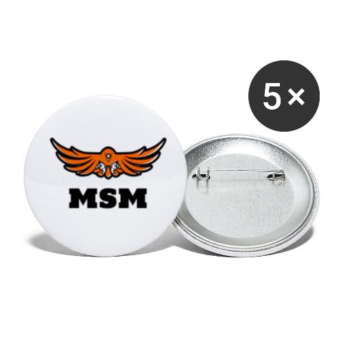 MSM EAGLE - Buttons/Badges lille, 25 mm (5-pack)