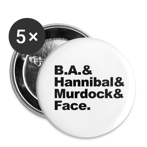 boys - Buttons klein 25 mm (5-pack)