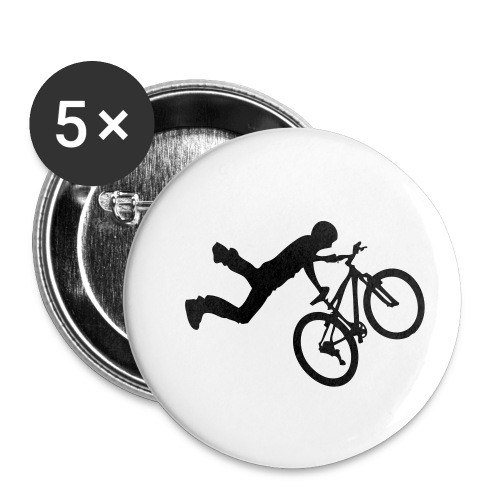Hero - Lot de 5 petits badges (25 mm)