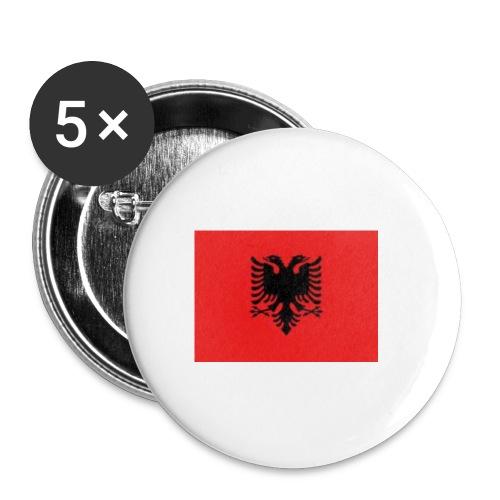ALBANIA - Rintamerkit pienet 25 mm (5kpl pakkauksessa)