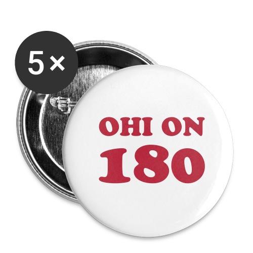Ohi on 180 cooper 2 - Rintamerkit pienet 25 mm (5kpl pakkauksessa)
