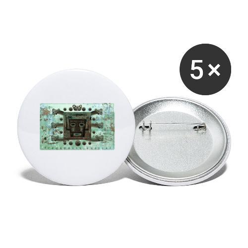 Psicose Progressiva (w) - Buttons small 1''/25 mm (5-pack)