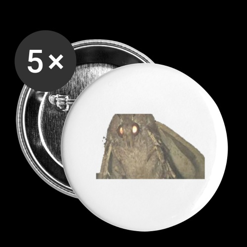 brudda - Buttons small 1''/25 mm (5-pack)