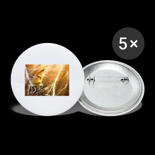 FANTASY 5 - Buttons klein 25 mm (5er Pack)
