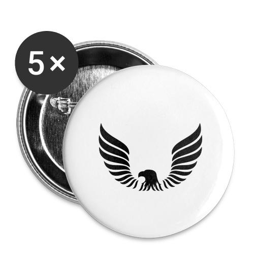 Aguila - Paquete de 5 chapas pequeñas (25 mm)