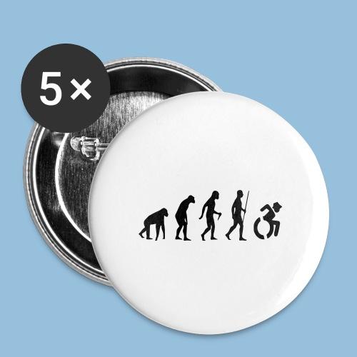 EvolutionWheelchair2 - Buttons klein 25 mm (5-pack)