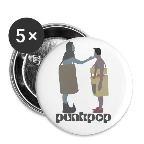 True Faith PunkPop - Confezione da 5 spille piccole (25 mm)