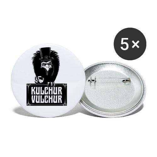 Kulchur Vulchur - Buttons small 1''/25 mm (5-pack)