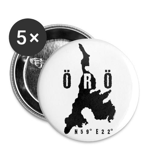ÖRÖ ISLAND, FINLAND T-SHIRTS, HOODIES + 150 GIFTS - Rintamerkit pienet 25 mm (5kpl pakkauksessa)