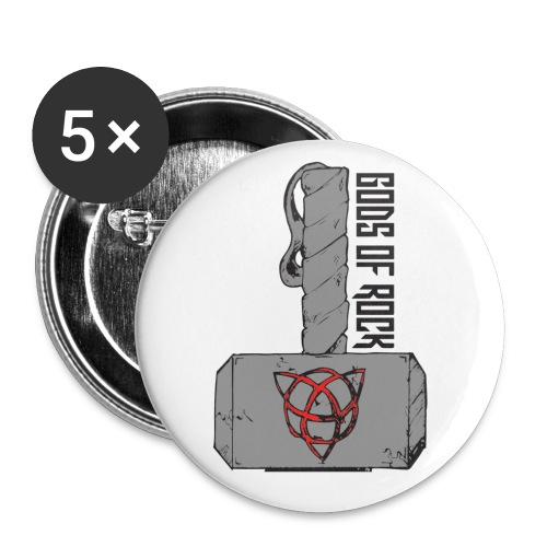 hammer png - Buttons small 1''/25 mm (5-pack)