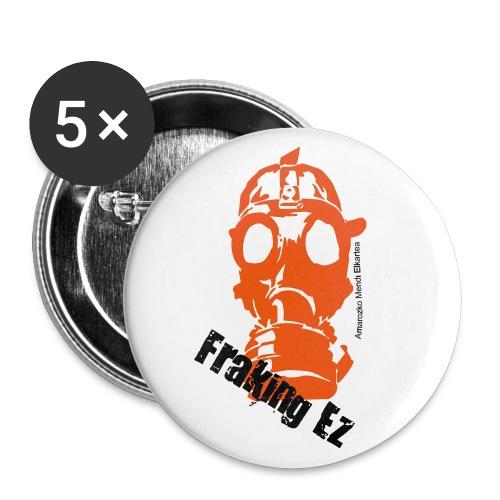 Anti - fraking - Paquete de 5 chapas pequeñas (25 mm)