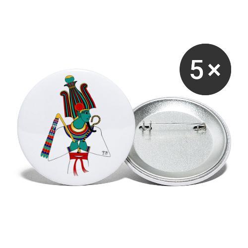 Osiris I altägyptische Gottheit - Buttons klein 25 mm (5er Pack)
