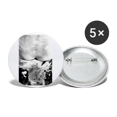 sans titre - Lot de 5 petits badges (25 mm)