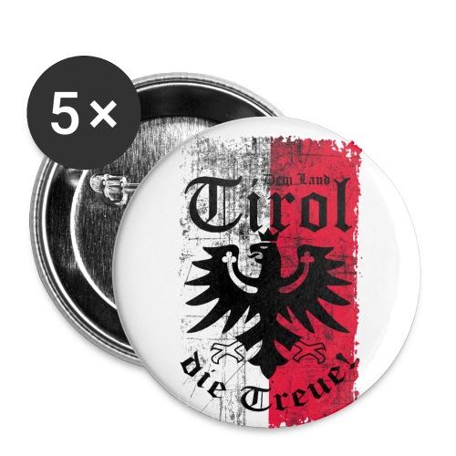 Tirol - Buttons klein 25 mm (5er Pack)