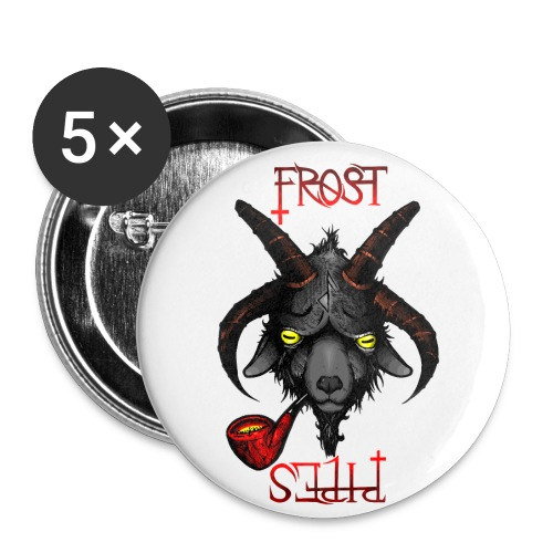 Pipebhomet - Buttons small 1''/25 mm (5-pack)