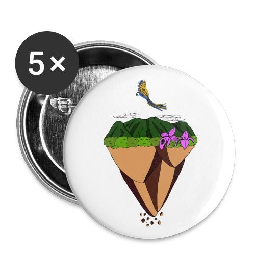 El Ávila Flotante - Paquete de 5 chapas pequeñas (25 mm)