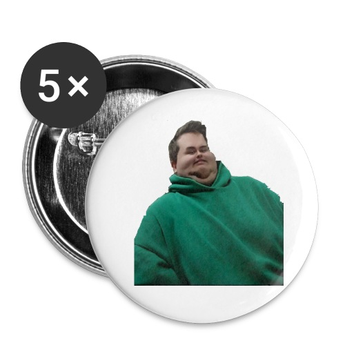 DerTimbo - Buttons small 1''/25 mm (5-pack)