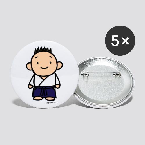 hakama - Buttons klein 25 mm (5-pack)
