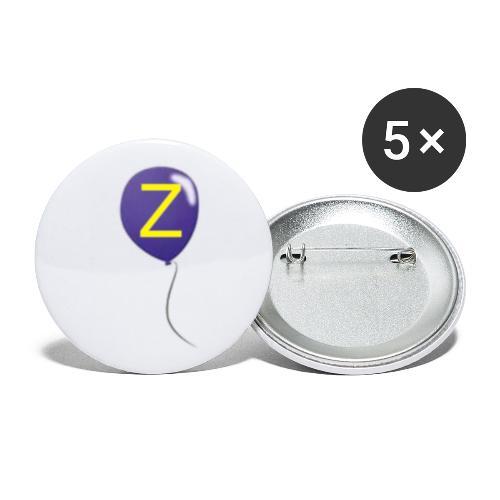 Z-Ballong - Små knappar 25 mm (5-pack)