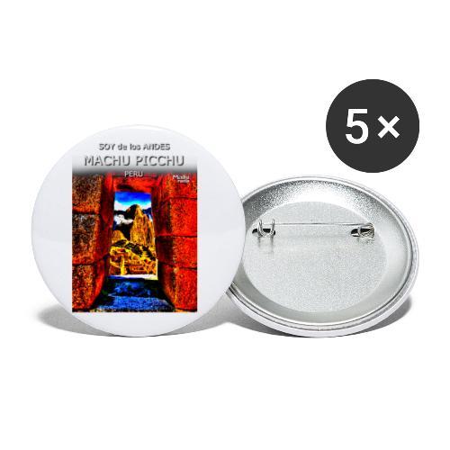 SOJA de los ANDES - Machu Picchu II - Paquete de 5 chapas pequeñas (25 mm)