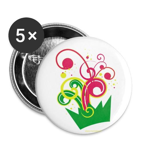 mymajor - Lot de 5 petits badges (25 mm)
