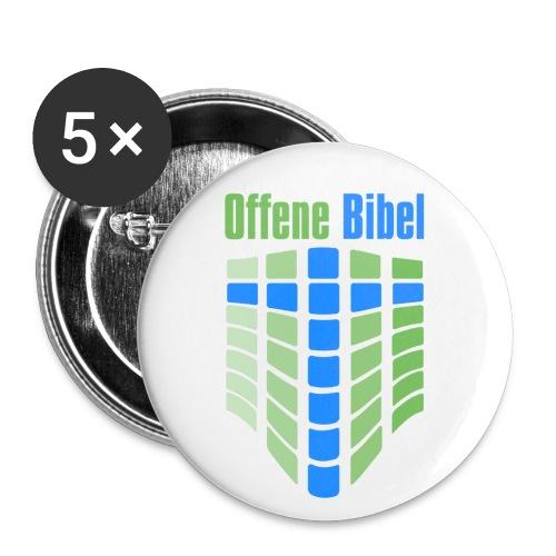 logo hoch - Buttons klein 25 mm (5er Pack)
