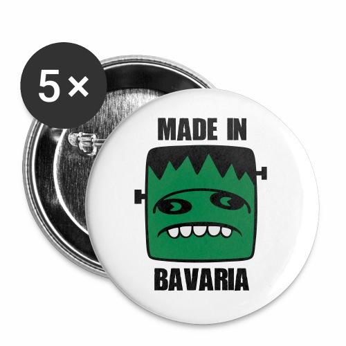 Fonster made in Bavaria - Buttons klein 25 mm (5er Pack)