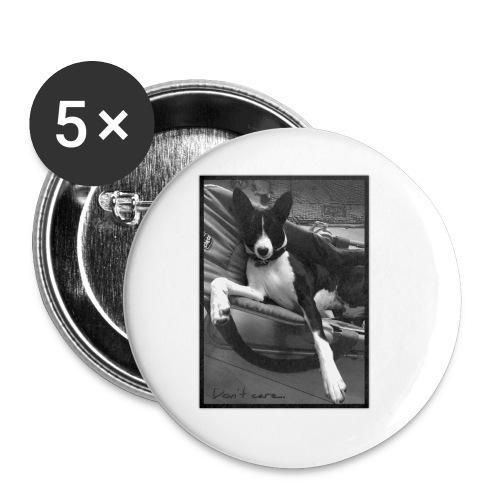 whatever - Lot de 5 petits badges (25 mm)