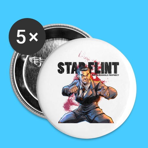 StarFlint Draco Vargas 2 - Badge petit 25 mm