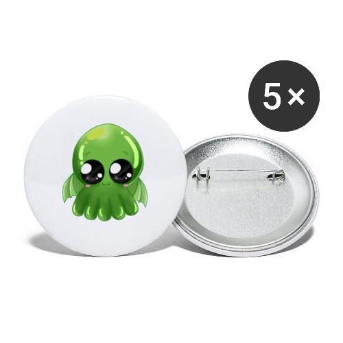 Super süßer Cthulhu - Buttons klein 25 mm (5er Pack)