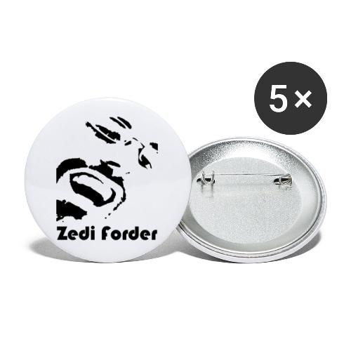 ZF Face - Buttons small 1''/25 mm (5-pack)