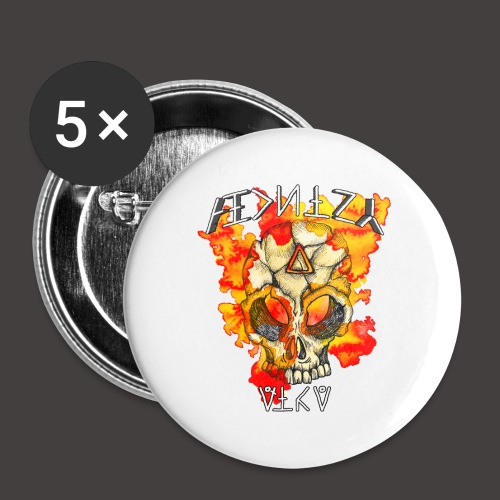 ALCHIMY: FIRE ELEMENT - Lot de 5 petits badges (25 mm)