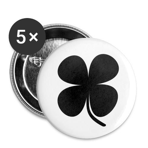 CLOVER - Paquete de 5 chapas pequeñas (25 mm)