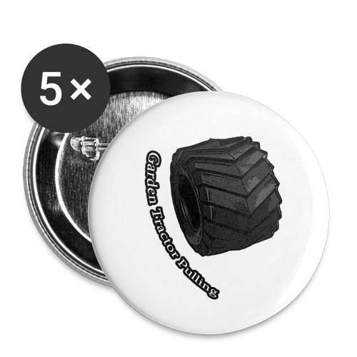 Børne Tractor pulling - Buttons/Badges lille, 25 mm (5-pack)