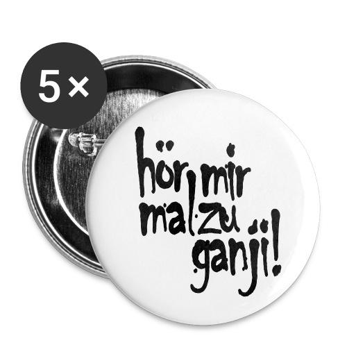 Ganji 2.0 / Der Kultspruch für deine Tasse & mehr - Buttons klein 25 mm (5er Pack)