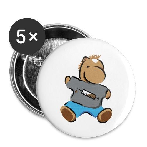 Breitmarra - Buttons klein 25 mm (5er Pack)